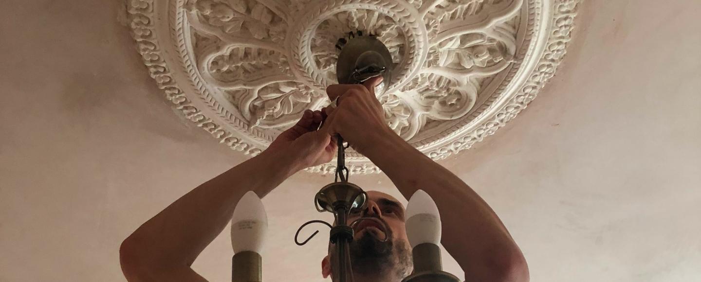 victorian plaster ceiling rose peelaway
