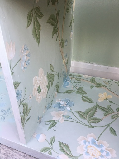laura ashley wallpaper furniture upcycle