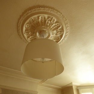 ceiling rose - dining room