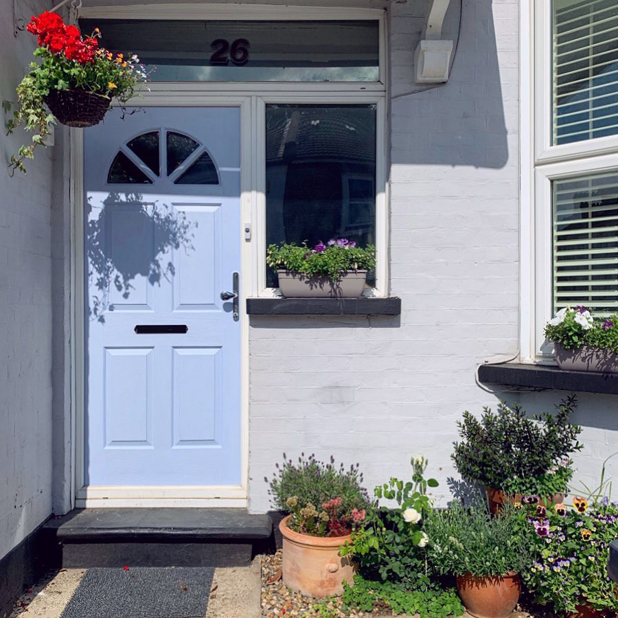 painted composite door