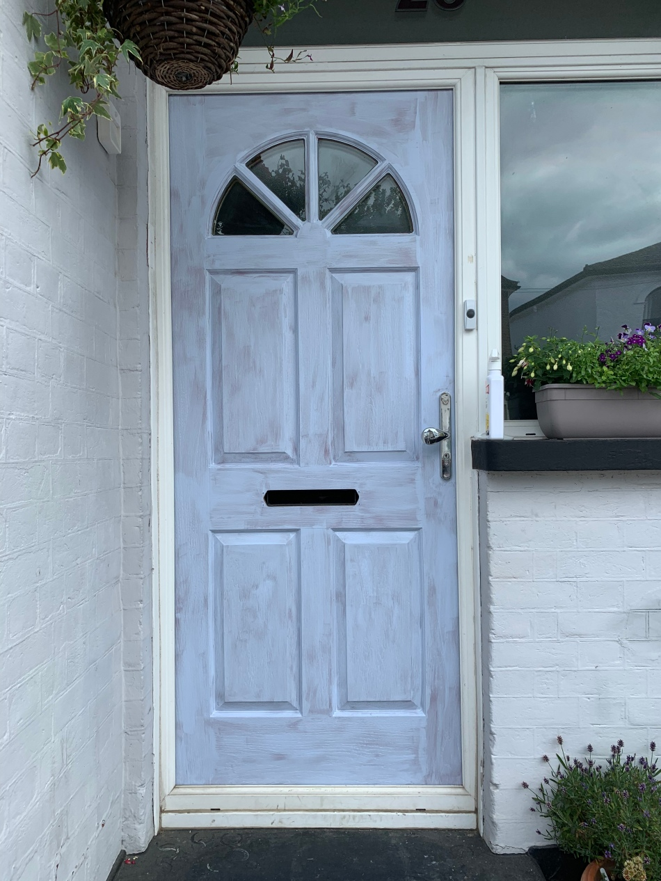 composite door one coat frenchic paint