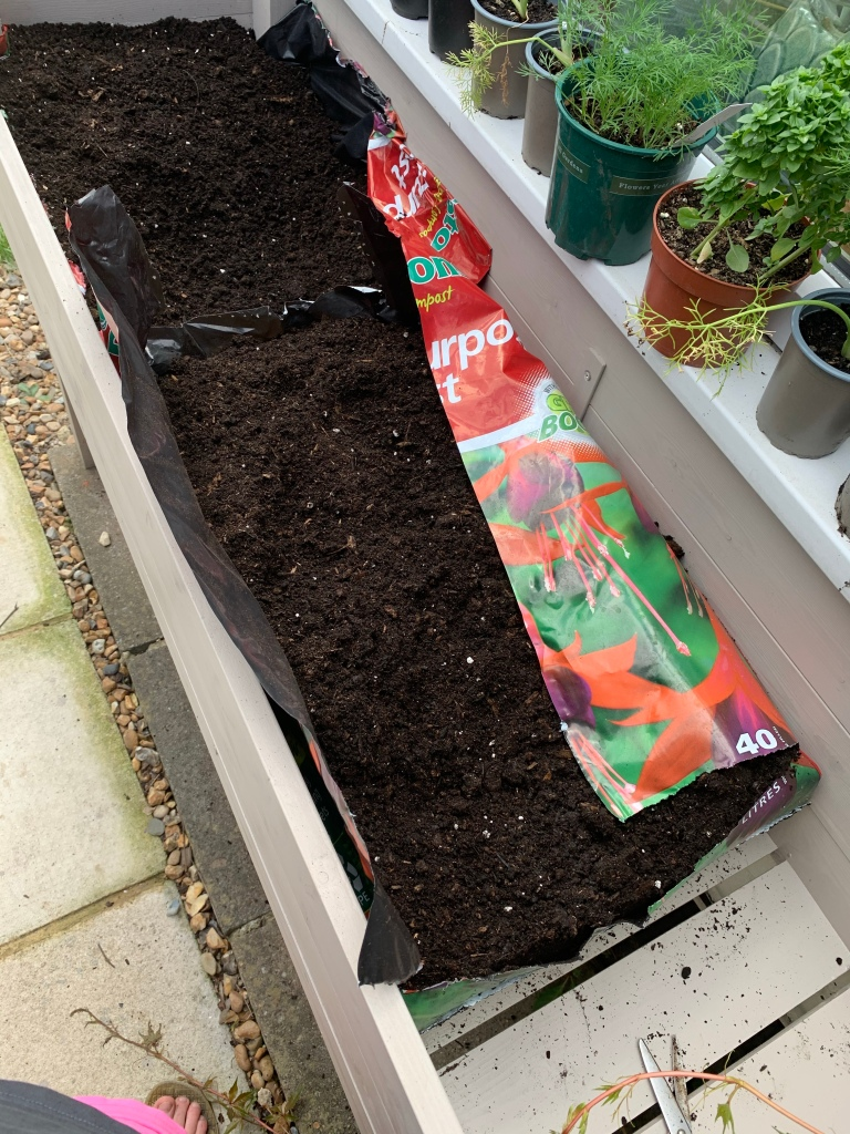 compost mix for herb planter