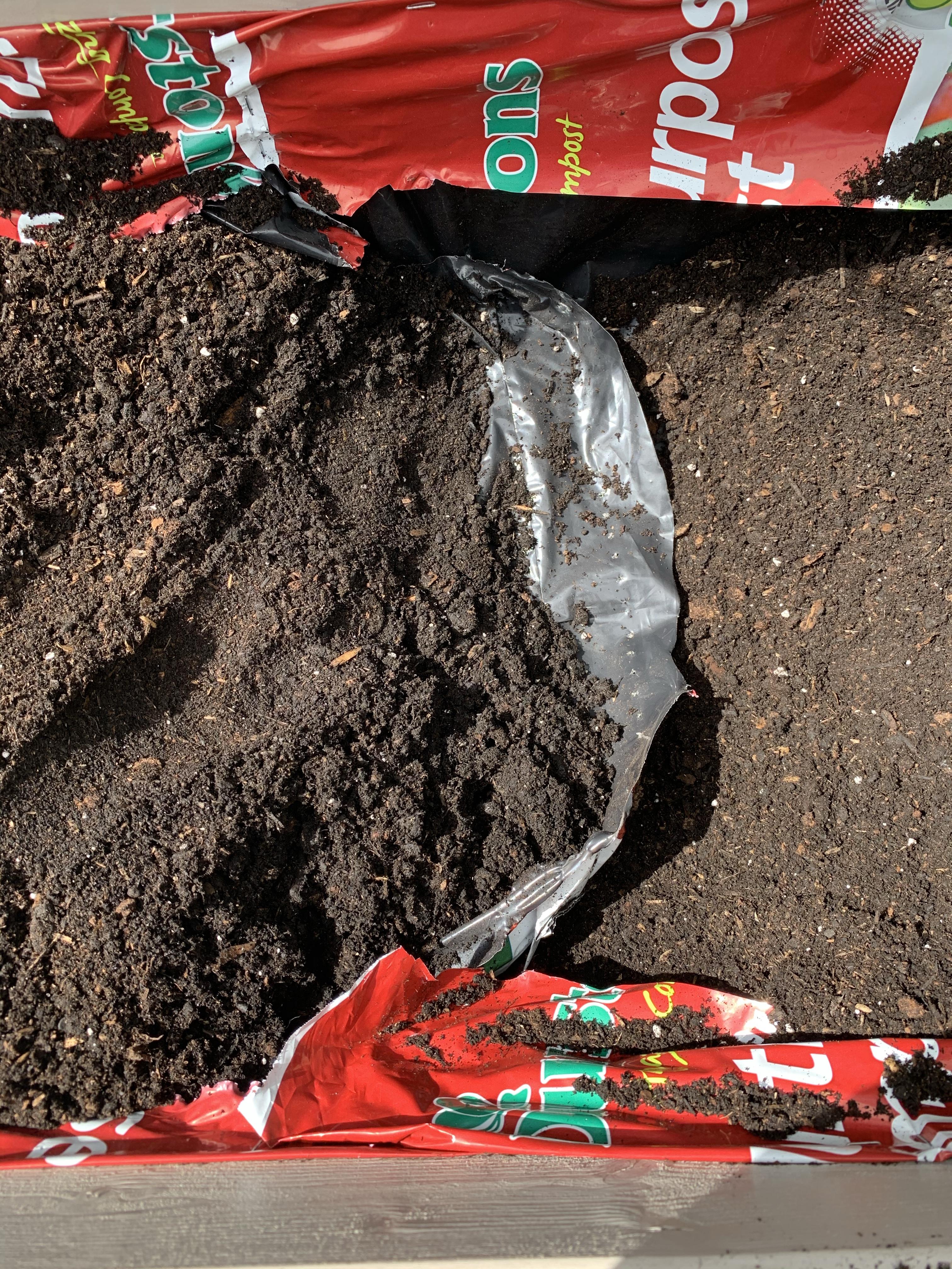 compost herb planter